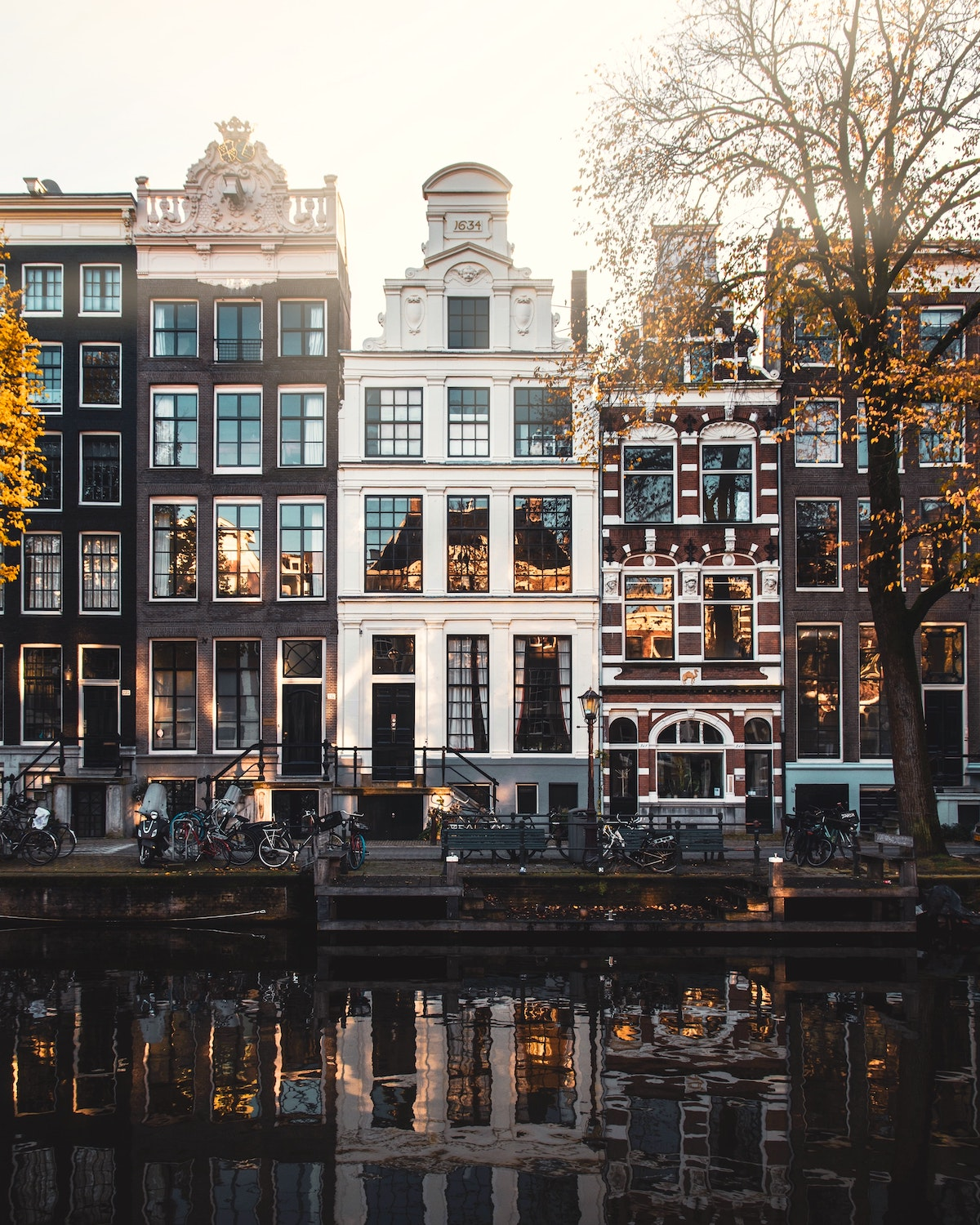 Amsterdam canal area